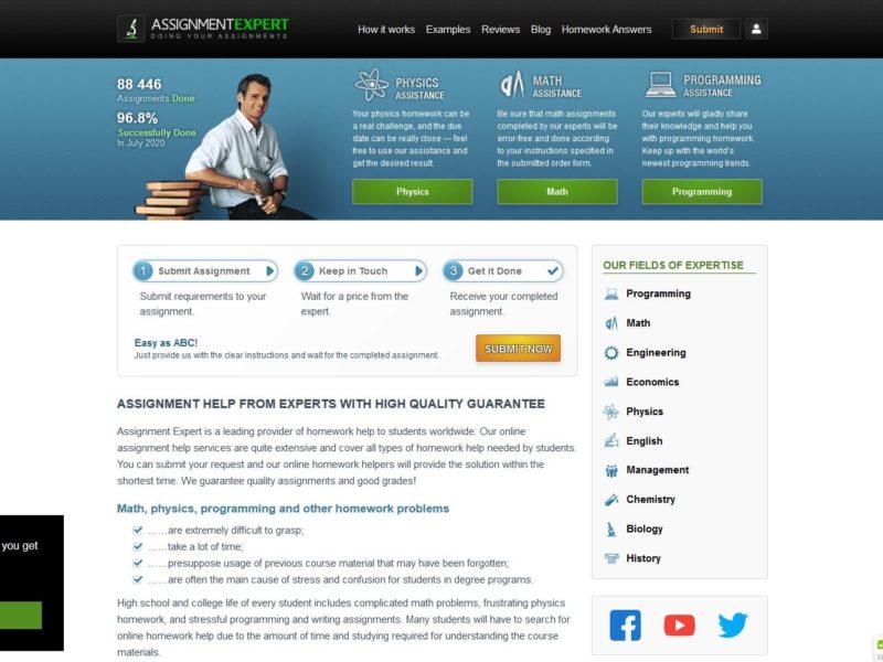 Assignmentexpert Reviews